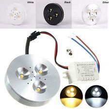 Disco de Luz LED 3W para Mostrador de cocina/Mostrador/Blanco Cálido/Escaparate De Estantería 85-265V