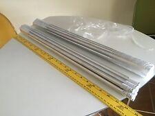 """Qty. of 10 NEW UNUSED Talon VWR 60079-406 915555 24"""" X .5"""" aluminum rod"""