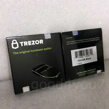 Trezor Hardware wallet Bitcoin BTC Litecoin Ethereum ETC Dash Zcash NEW - BLACK
