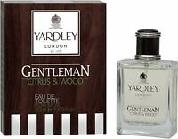 YARDLEY LONDON Gentleman Citrus and Wood Eau de Toilette For Men, 50ml & 100ml