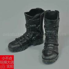 1/6 scale The Avengers Falcon boots Black Lowa Zephyr Military Combat Shoes