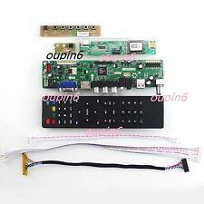 TV HDMI CVBS RF LCD Controller Board Kit for QD15TL04/QD15TL02 1280X800 WXGA