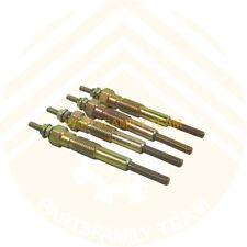 12V Engine Plug Glow Set For Komatsu 4D95 4D95S FD20-T11 FD25-T11 Forklift Truck
