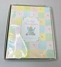 Babys Milestones Book Vintage 1980s 0-7 Years Pastel Album