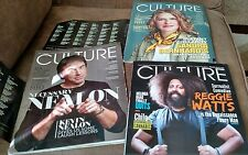 3 preowned culture cannabis magazines. 2015