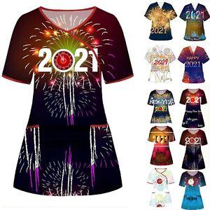 Medical Doctor Nursing Men Women Scrub 2021 Tops Shirt Hospital Uniform Costume