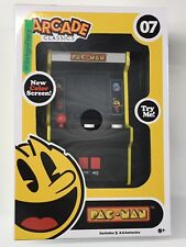 ARCADE CLASSICS - PAC-MAN MINI VIDEO ARCADE 1980'S COLOR SCREEN - NEW!