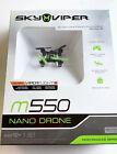 NEW Sky Viper 01731-G1 m550 Nano Drone Black quadcopter stunts tricks small