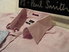 "PAUL SMITH Mens Shirt 🌍 Size 16"" (CHEST 44"")🌎RRP £95+🌏 FLORAL JACQUARD STRIPE"
