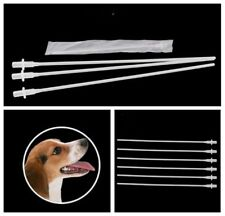 100pcs Artificial Canine Dog Goat Sheep Insemination Breed whelp Catheter Rod