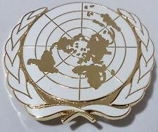 insigne de béret ONU O.N.U Organisation des Nations unies UN U.N United Nations