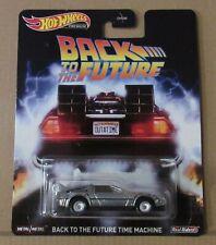 DeLorean Time Machine 2 Back To The Future Retro 1:64 Hot Wheels FLD13 DMC55