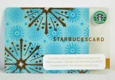 "2006 STARBUCKS CARD ""GOLD SNOWFLAKES"" OLD LOGO NO BALANCE"