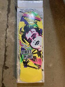 (Skateboard Deck) Mark Gonzales Street Plant Yellow JUMBO GONZ / w/ Logo Box