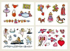 Glitzer*Kinder-Tattoos*Herzen&König*Prinzess*Mitgebsel A7*Grätz*Kindergeburtstag