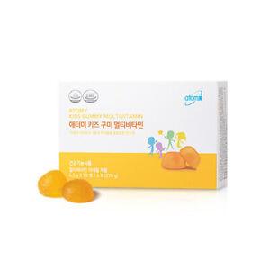 Atomy Kids Multivitamin Mango Flavor Soft Gummies Vitamin C, E, A, D 60 pcs NEW