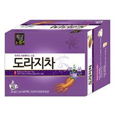 Korea Balloon Flower Bellflower Root Tea 40 Tea bags Korean Health Natural Tea