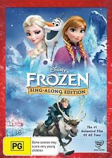 Disney - Frozen SING-ALONG-EDITION DVD, 2015)