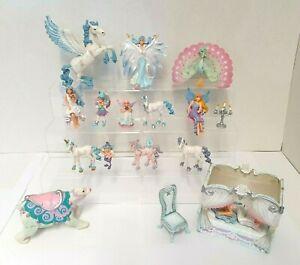 Large Bundle of ELC WINTER WONDERLAND FIGURES - Snow Queen, Unicorns & More