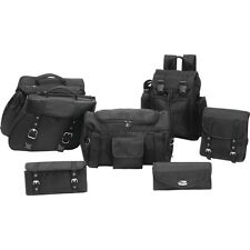 Ballistic Nylon MOTORCYCLE SADDLEBAGS SET 7 PC For Kawasaki BETTER THAN LEATHER