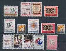 LM82370 Macedonia mixed thematics fine lot MNH