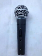 used SHURЕ SM58s Dynamic Vocal Microphone Mic with switch(on--off).shure.SM58