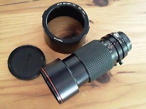 Tokina AT-X PRO Manual 80-200mm f2.8 077 Telephoto Lens for NIKON hood & caps