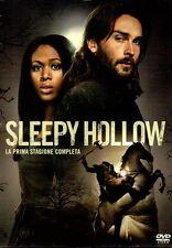 SLEEPY HOLLOW - LA PRIMA STAGIONE COMPLETA (1) - BOX 4 DVD (NUOVO SIGILLATO)
