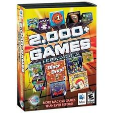 2000+ Games for MAC OS X    Arcade Puzzle Sports Brain Teasers Board  Brand New