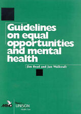 Guidelines on Equal Opportunities and Mental Health by Wallcraft, J., Read, Jim