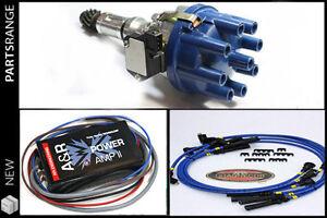 Rover V8 Ignition Upgrade kit Distributor Amplifier Magnecor Plug Leads Pre 76