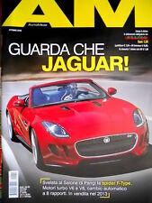 Auto Mese Ottobre 2012 Nuova Jaguar. VW Golf. Il SUV secondo Honda [Q77]