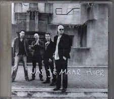 Blof-Was Je Maar Hier Promo cd single
