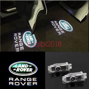 LAND ROVER 2Pcs LED PROJECTOR LIGHT LOGO EMBLEM ACCESSORY CAR DOOR BRIGHT LIGHT