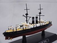 Eaglemoss 1/1100 Mikasa 三笠 1902 Battleship Warships Japanese Diecast Mini WS8