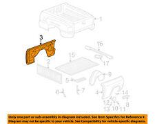 GM OEM Rear Fender Panel-Bed-Inner Panel Right 15758524