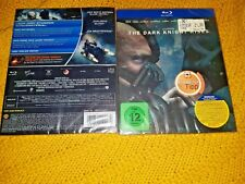 THE DARK KNIGHT RISES Blu-Ray Digibook Limited Edition Batman Slipcover New&Seal