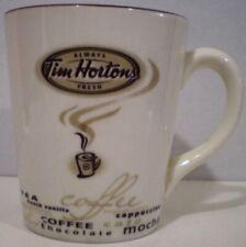 Tim Hortons Mug Types of Coffee Tea Limited Edition 2005