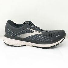 Brooks Womens Ghost 13 1203381B062 Black Running Shoes Lace Up Size 7.5 D
