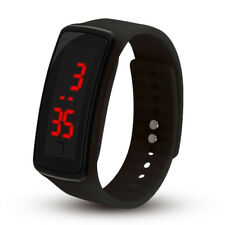 Digital LED Wrist Sport Watch For Men Women Boys Girls Kids Birthday Gift UK SUN