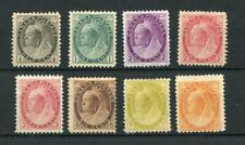 Canada 1898-1902 short set  to 8c SG150/61 (exc 5c) MM cat £495 see desc