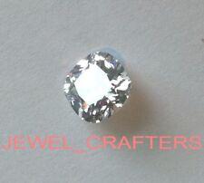 6.5 mm Square Cushion Cut D Color VVS1 Diamond Simulated Lab Created Loose Stone