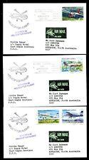Papua Neuguinea 557/60 Flugzeuge Helikopterflug Aeropex 88