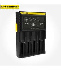 Nitecore Digicharger D4eu 4-schacht cargador con LCD