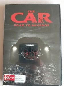 DVD R4 Horror THE CAR, ROAD TO REVENGE, MA 15+, Great Condition!