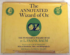 The Annotated Wizard of Oz by L Frank Baum and Michael P. Hearn - First Ed. 1973