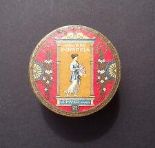 Boite bouteille flacon parfum LT PIVER POMPEIA french perfume tin