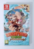 Donkey Kong Country Tropical Freeze Nintendo Switch Region Free 2018 New Sealed