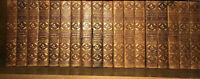 Old leather 1902 18 volumes works of Charles Dickens