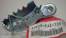 PEDANA POGGIA PIEDE  ANTERIORE  DX CR80/85 XR400 XR650 50616KAE730